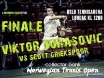 Viktor Durasovic sets up final against Scott Griekspoor (NED)