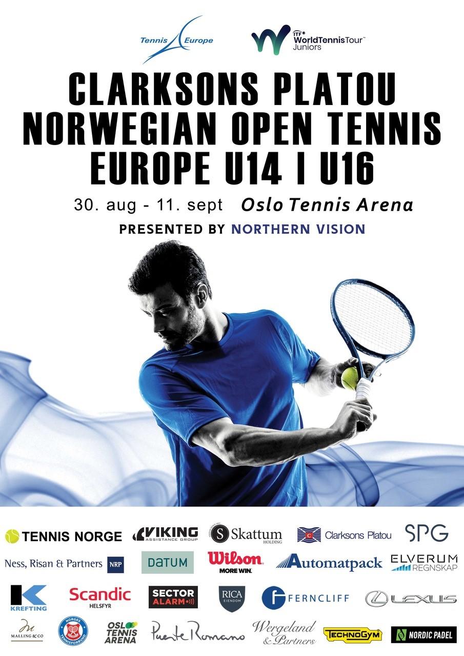 Clarksons Platou Norwegian Open Tennis Europe gets under way in Oslo!