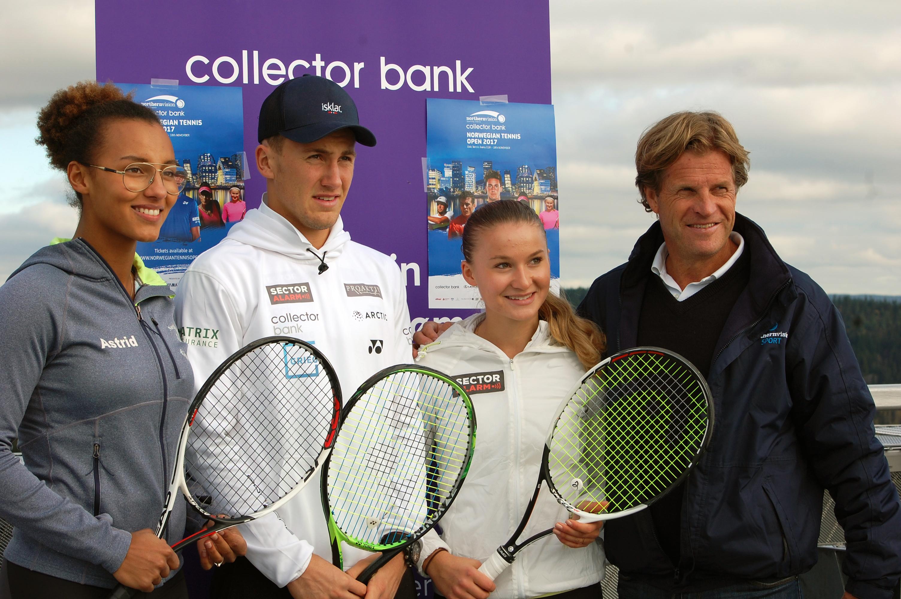 Collector Bank: – Håper Norwegian Open blir en Challenger-turnering om noen år