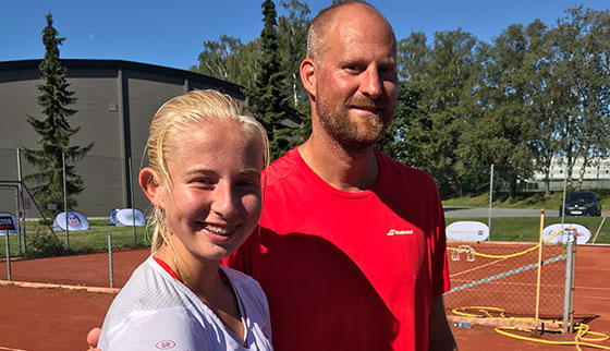 The Norwegian Open gets under way in Sandefjord.