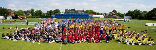 Tennis - Liverpool International Tennis Tournament 2014 - Kids Day